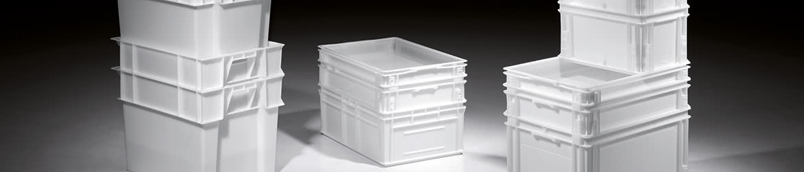 Food-grade plastic storage containers
