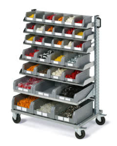 Small part holder trolleys