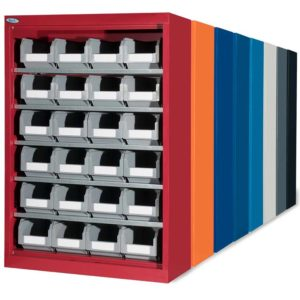 Storage bin holder industrial racking systems